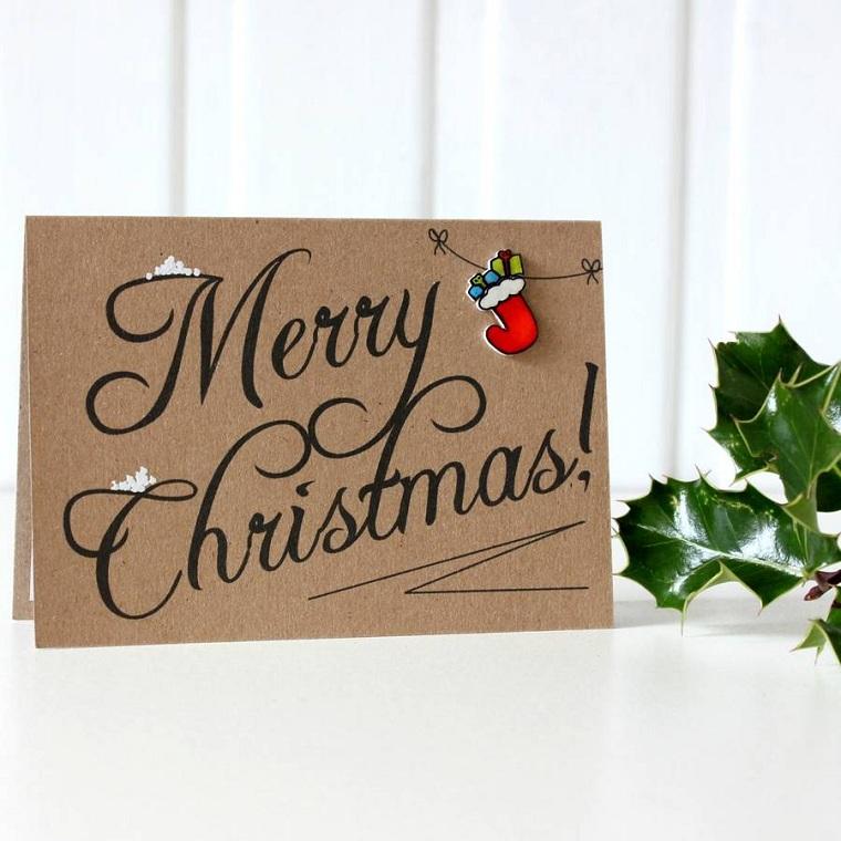 Joyeux Noël-style-cartes originales