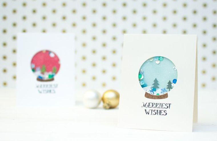 Joyeux Noël-style-design-cartes modernes