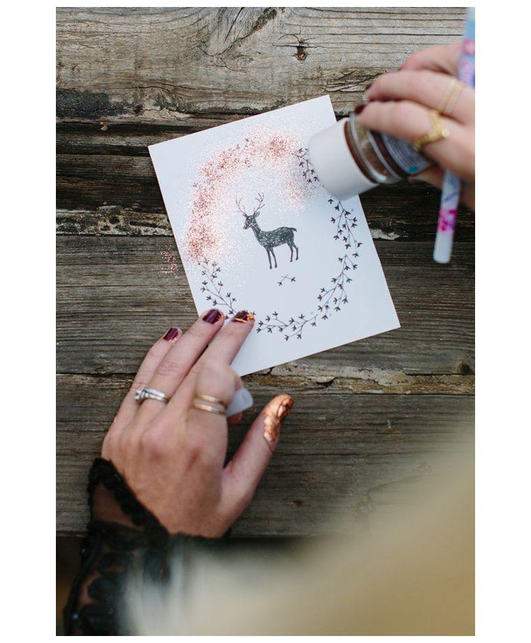 décorer-cartes-idées-briller-noël