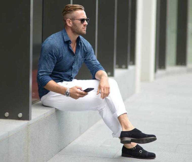 mode été-masculine-élégante