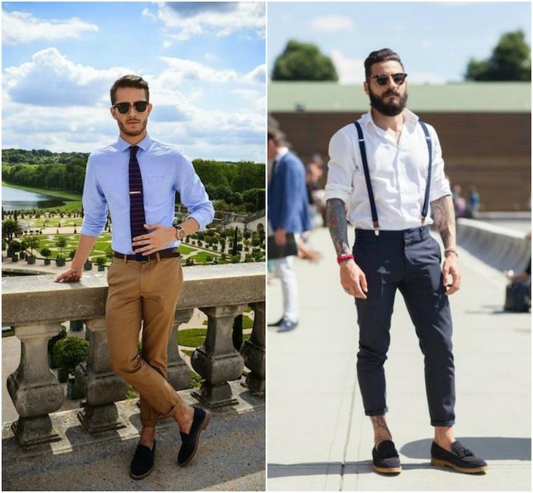 mode masculine-élégante-moderne