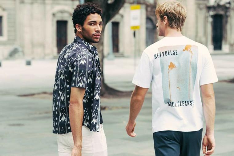 mode pour hommes-été-chemises