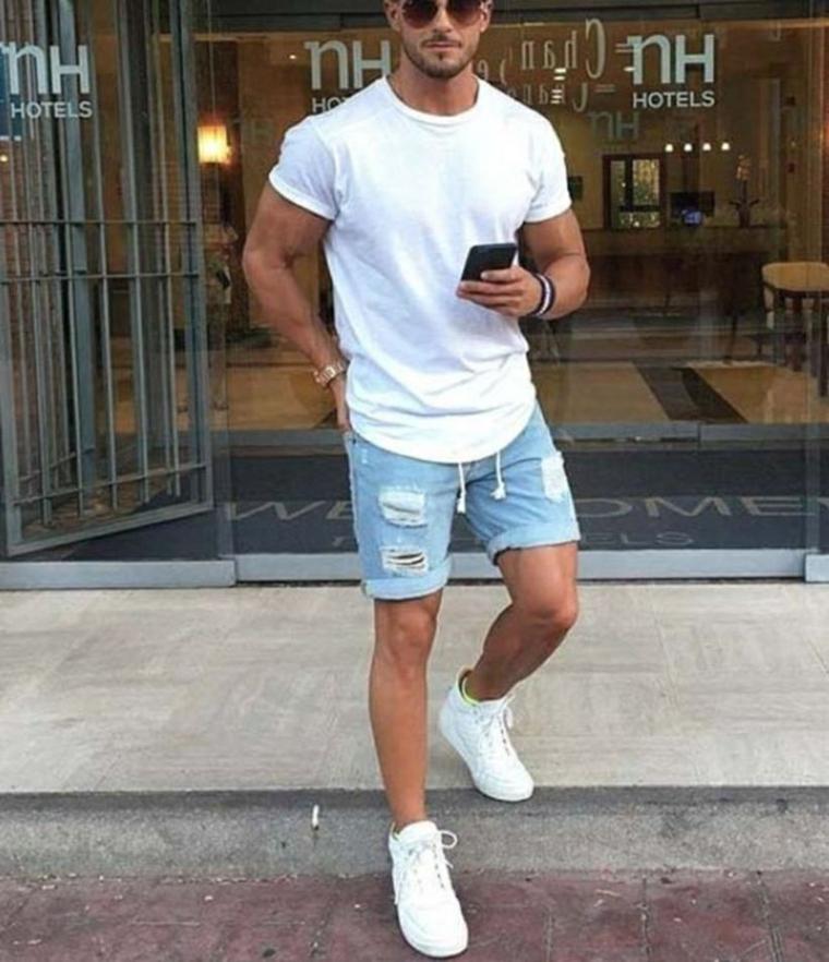 mode homme-casual-été