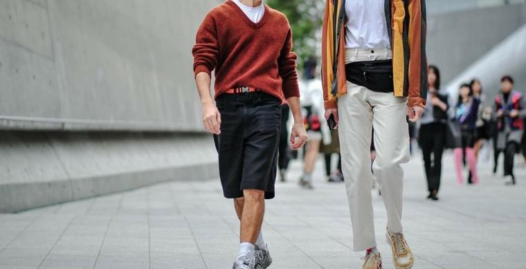 mode pour hommes-pantalons d'été