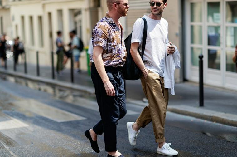 vêtements décontractés pour hommes-été
