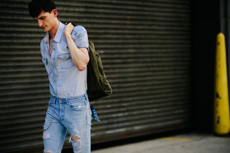 vêtements de mode-homme-jeans