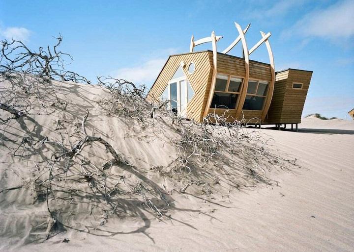 Namibie maison de style côtier