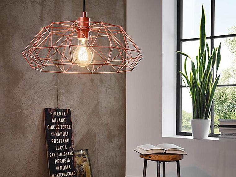 lampes de designer-lampes-pendentifs-moderne-couleur-cuivre