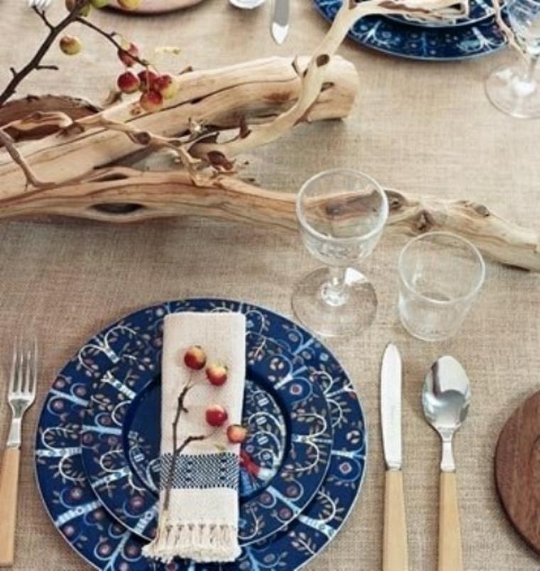 décorer la table dautomne