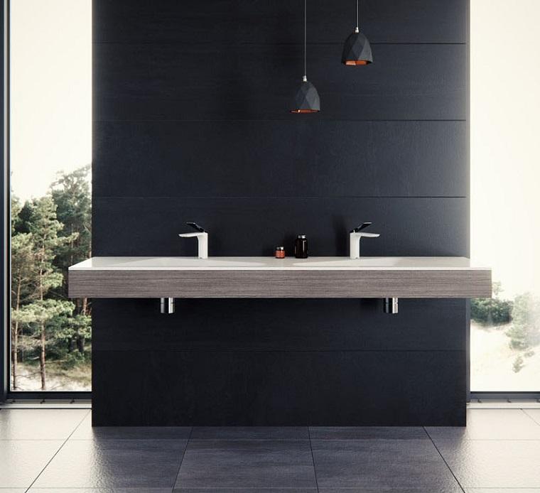 lavabo moderne salle de bain moderne