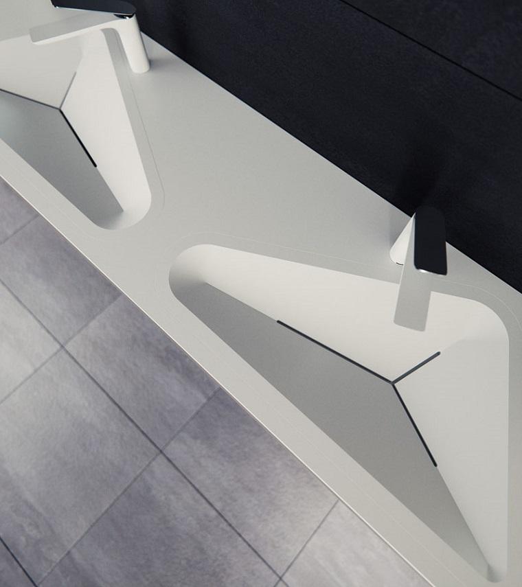 éviers modernes modèle monolit