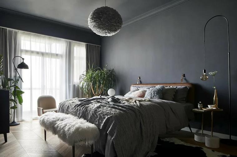 intérieur de chambre à coucher