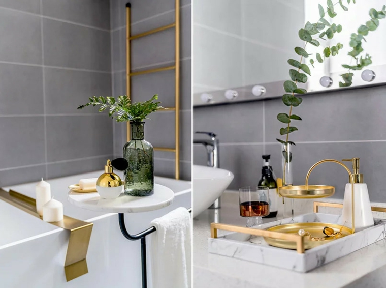 intérieur moderne salle de bain