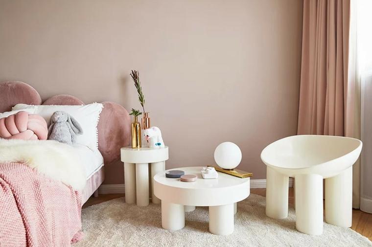 chambre denfant rose