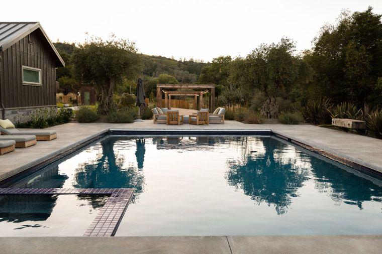 piscine et lieu de repos