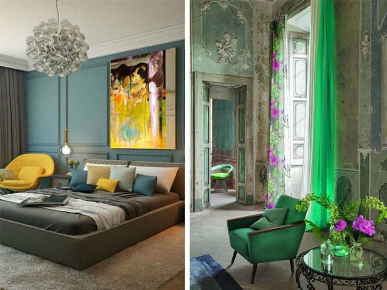 Design écologique et éclectisme dans des appartements modernes très proches les uns des autres