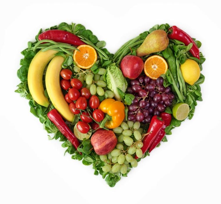 coeur fruits et legumes