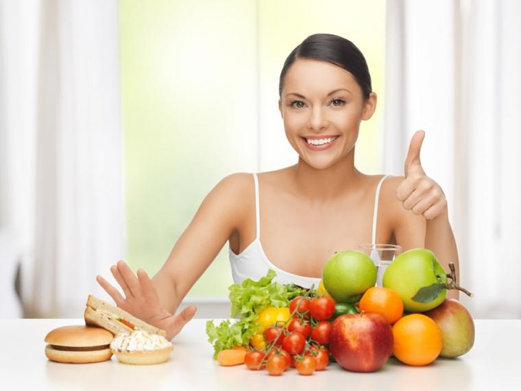 alimentation saine vs nuisible