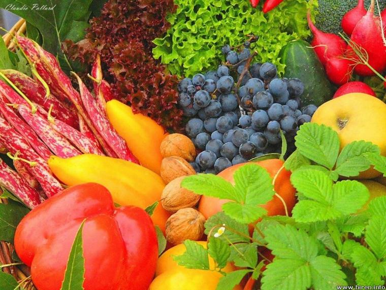 fruits et legumes plusieurs