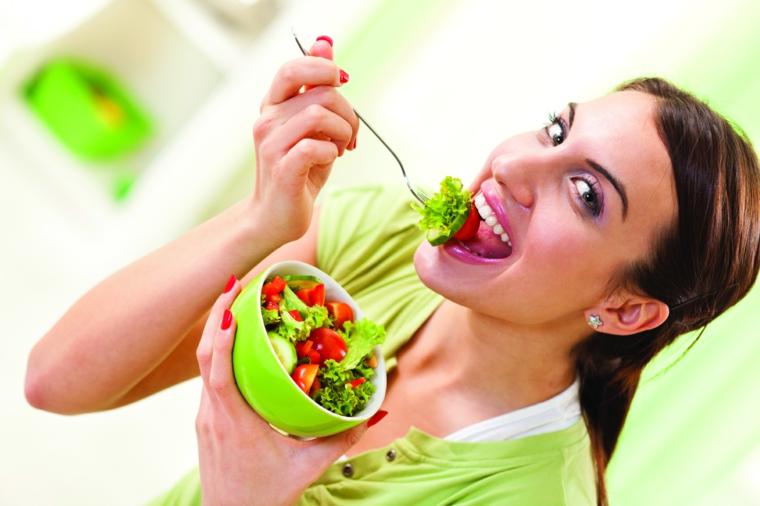 salade de femme