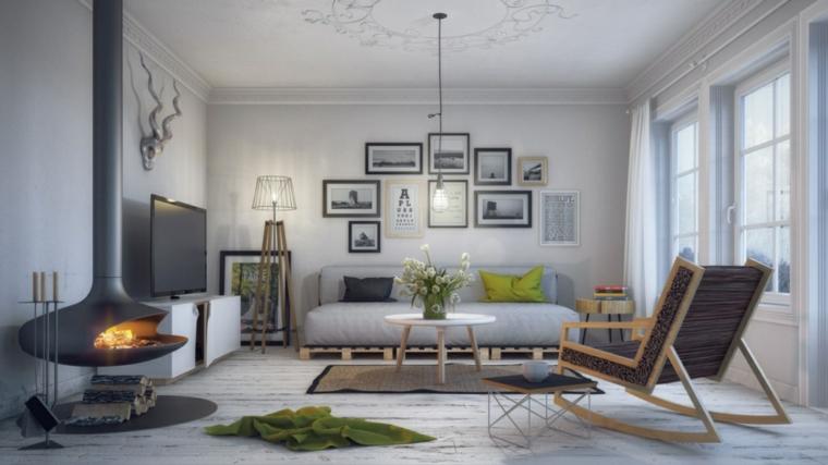 Styles de design intérieur-scandinave