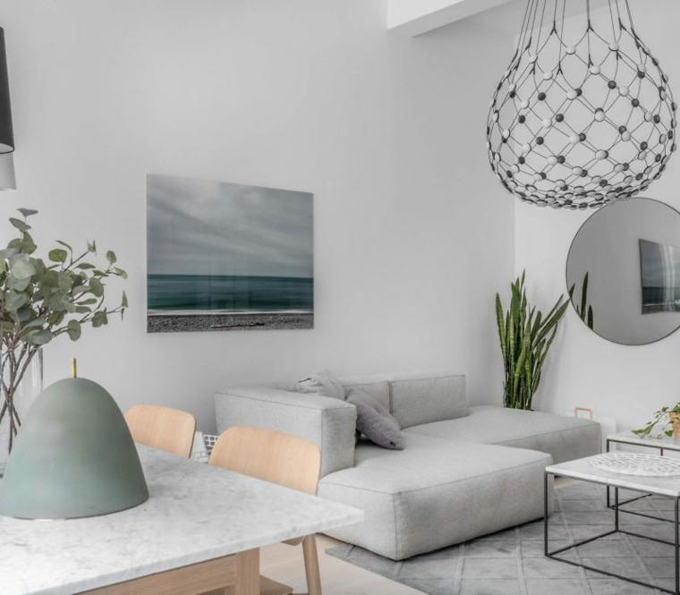 design scandinave de style intérieur
