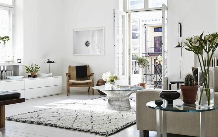 styles de design intérieur-blanc