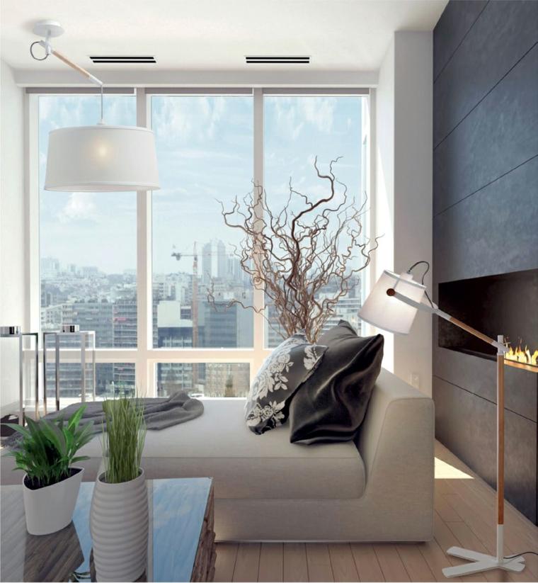styles de design dintérieur-fenêtres