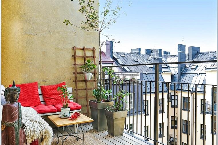 décoration-eclective-balcon-hiver-idées