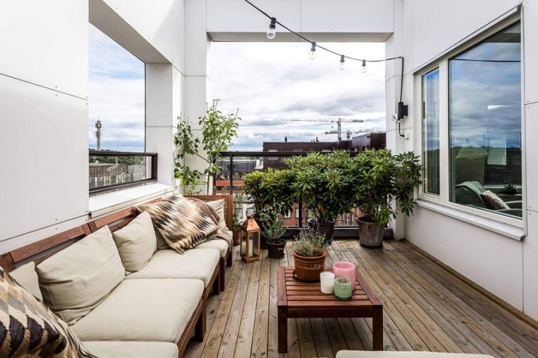 hiver-balcon-décorer-meubles-appartement-stockholm