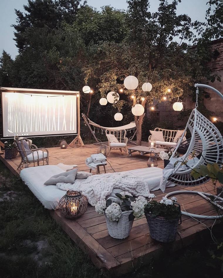 hiver-balcon-décorer-meubles-coussins-couverture