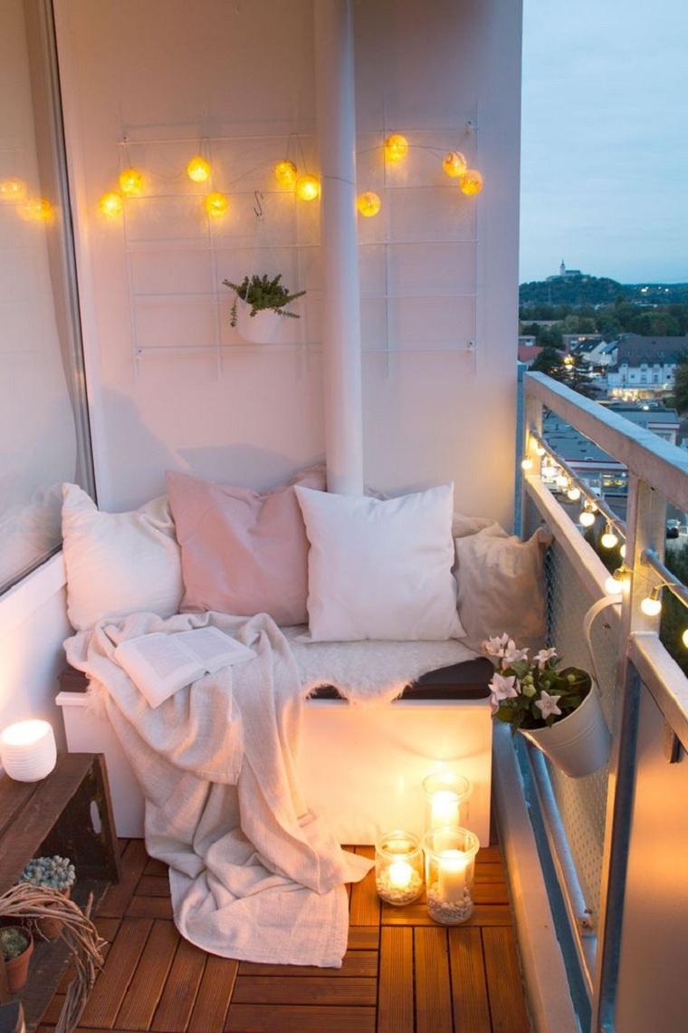 hiver-balcon-décorer-meubles-banc-petit