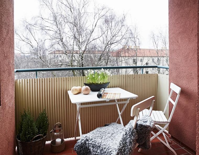 balcon dhiver intérieur petites options