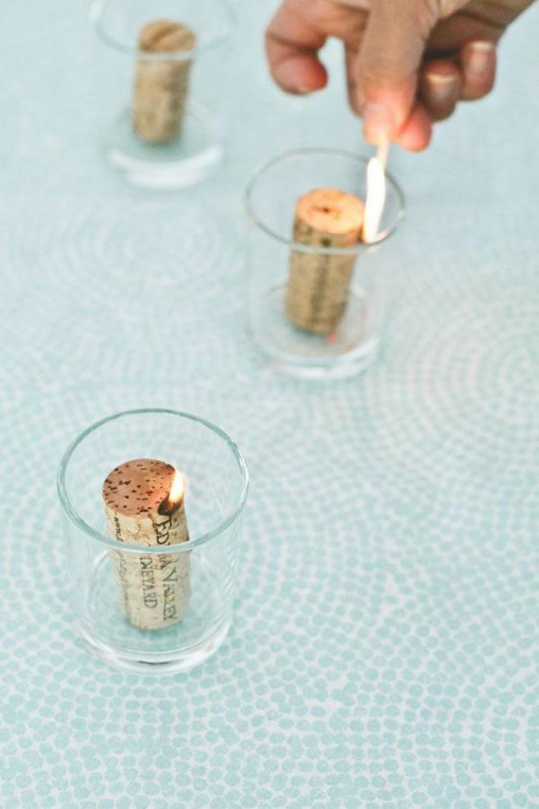 Bougies de liège