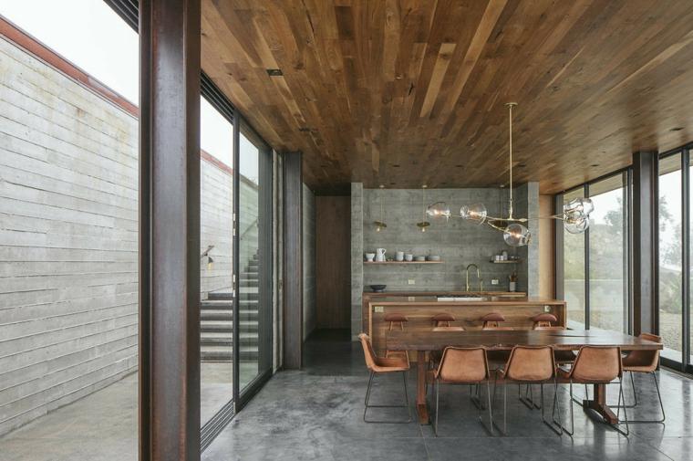 Salle à manger Off-Grid Guest House