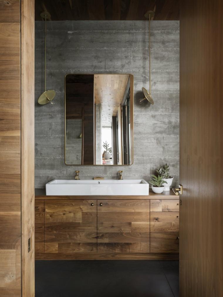 bois de salle de bain