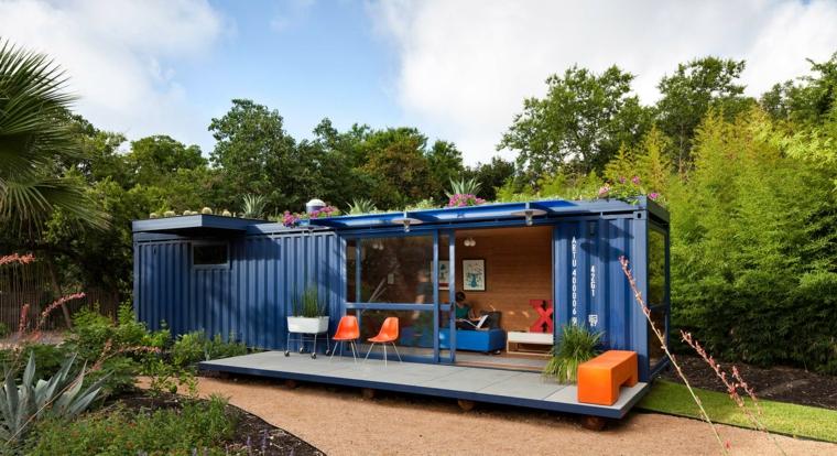 maisons de conteneurs recyclés