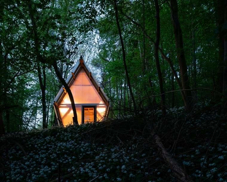 mobile-petites-maisons-idées-forestières