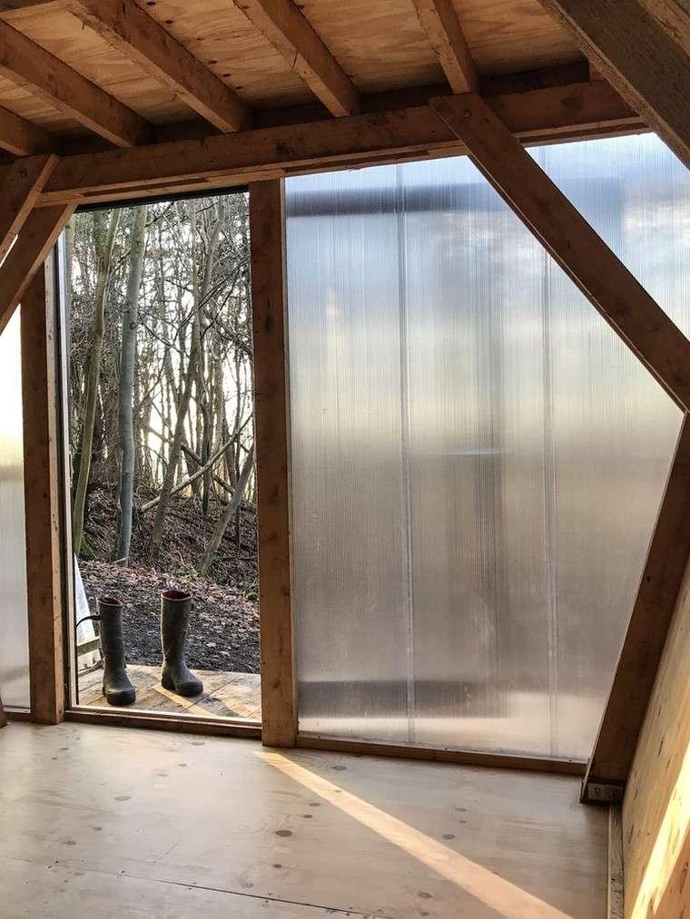 maisons mobiles-petites-maisons-forêt-intérieur