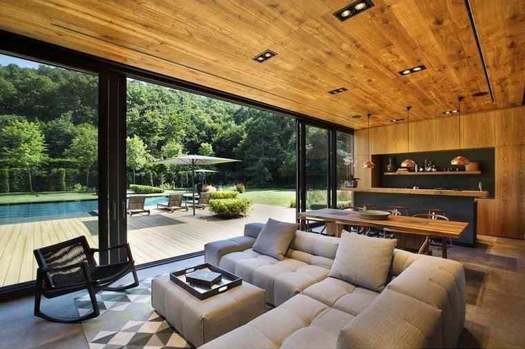 maisons modernes-interieur-design-salon-salle a manger