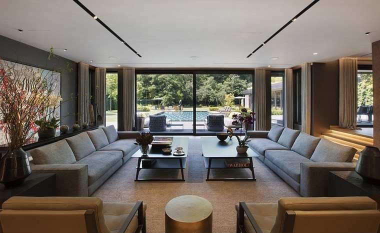 maisons modernes-interieur-design-salle-canapés
