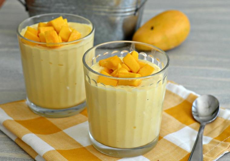 Mousse de mangue