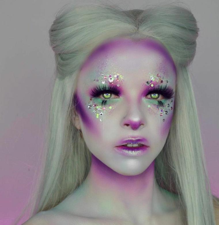 idées-original-maquillage-belle-femme