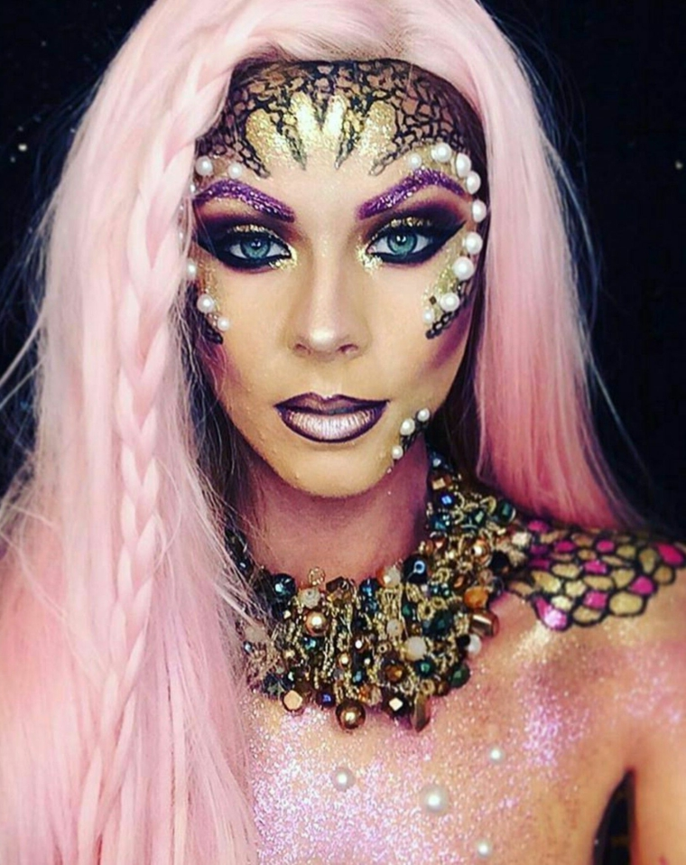 idées-femme-maquillage-fille-attractif-original