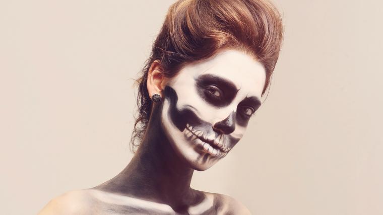 maquillage-de-mort-crâne-idées
