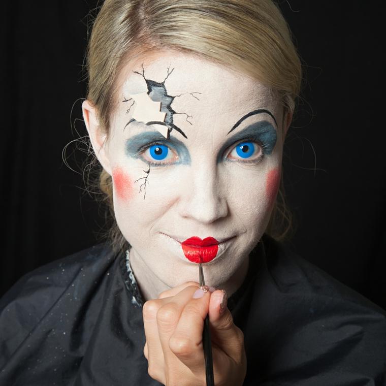 maquillaje-halloween-cara-blanca-idées-originales
