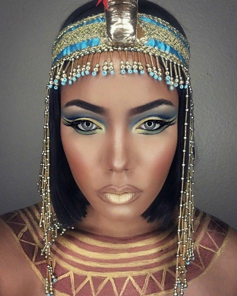 maquillage-halloween-cleopatra-idees