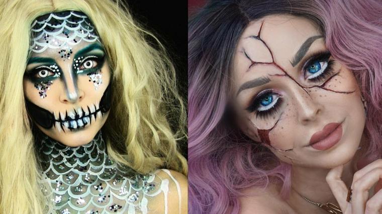 maquillage-halloween-deux-idées-style-poupée