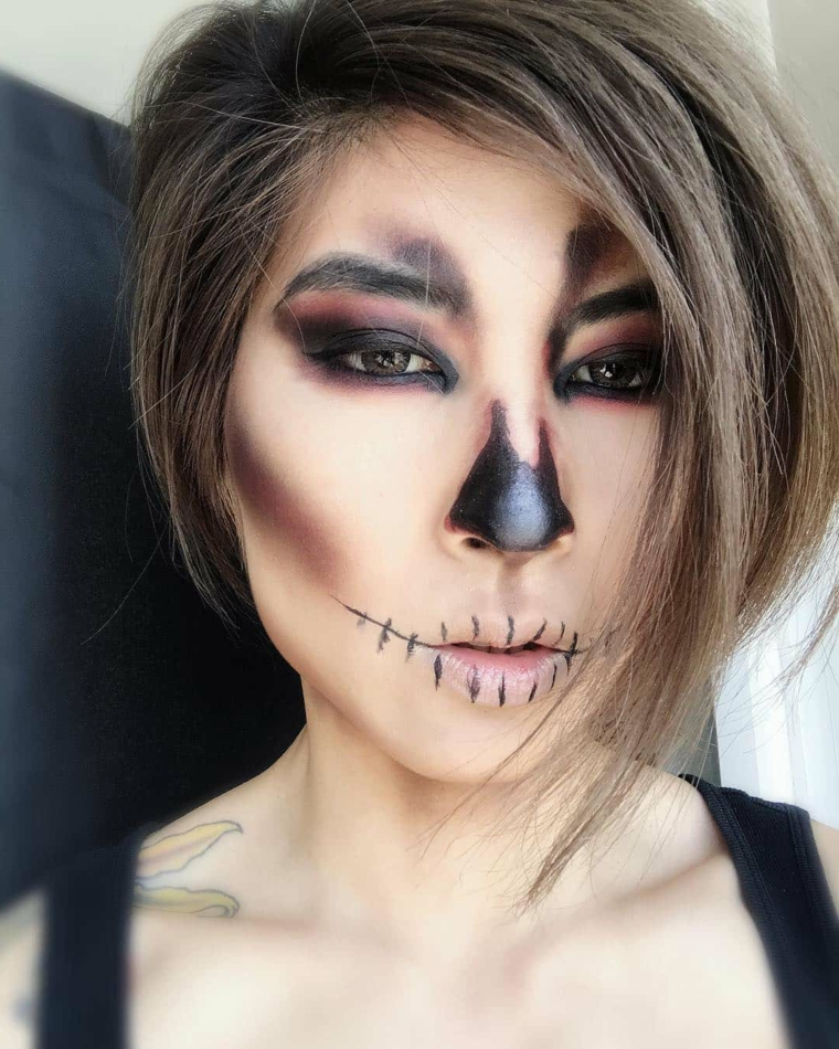 maquillage-halloween-idées-easy-party