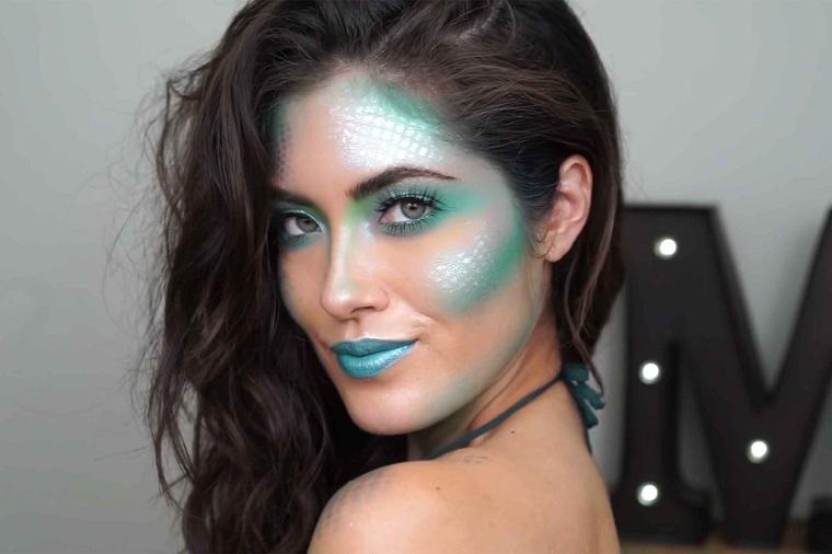 maquillage-halloween-inspiré-mer